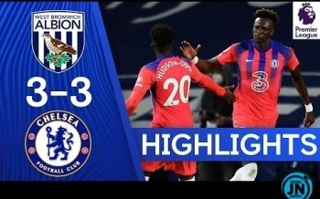 [Highlights] Premier League - West Brom 3-3 Chelsea